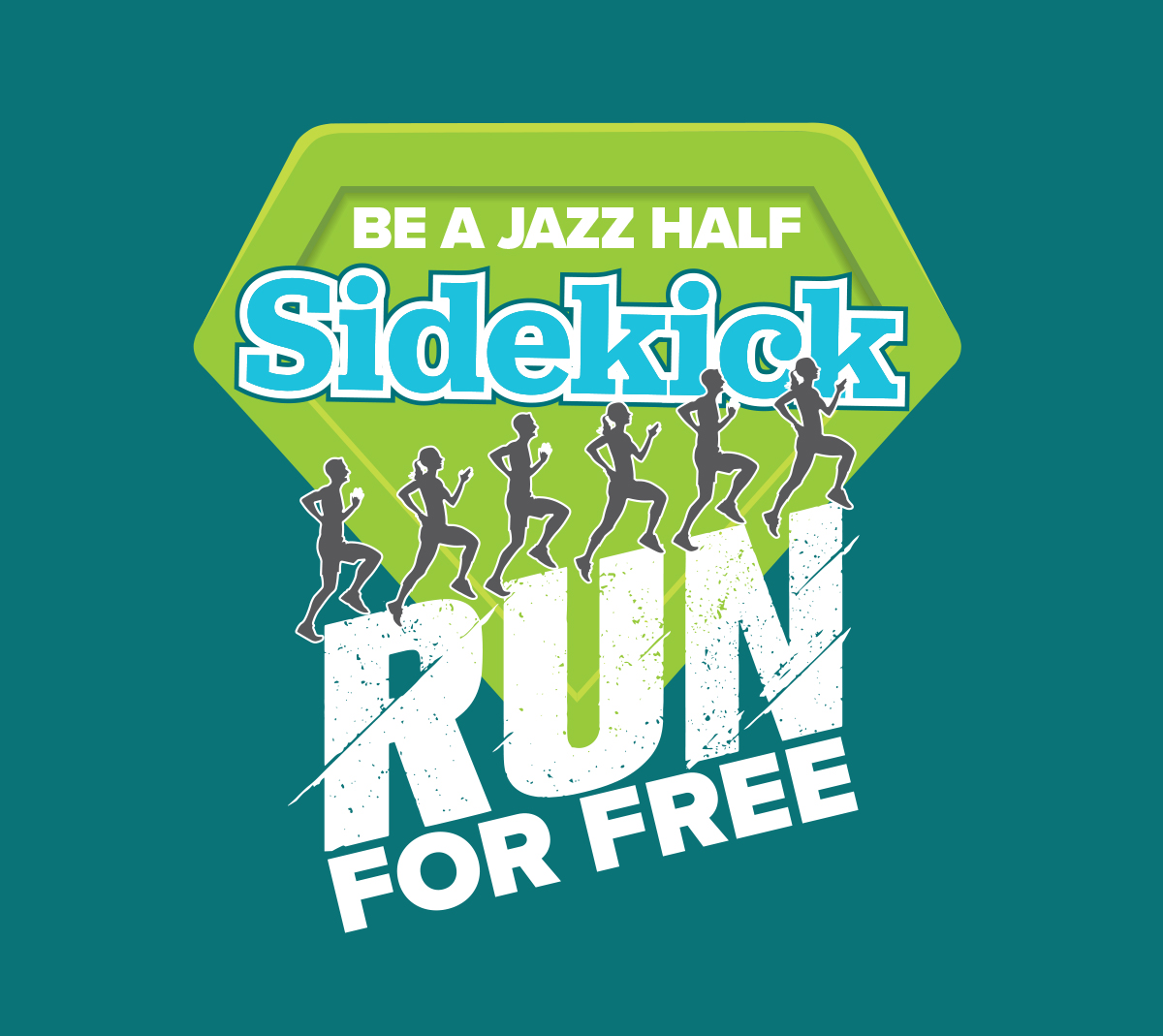 Run for free logo