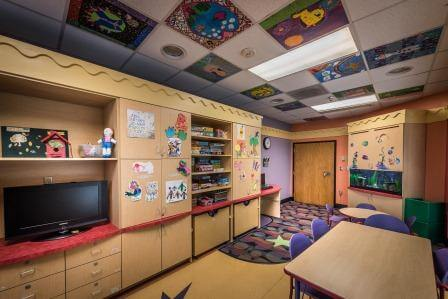Child's playroom at Children's Hospital