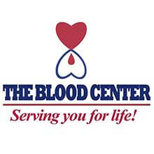 The Blood Center logo