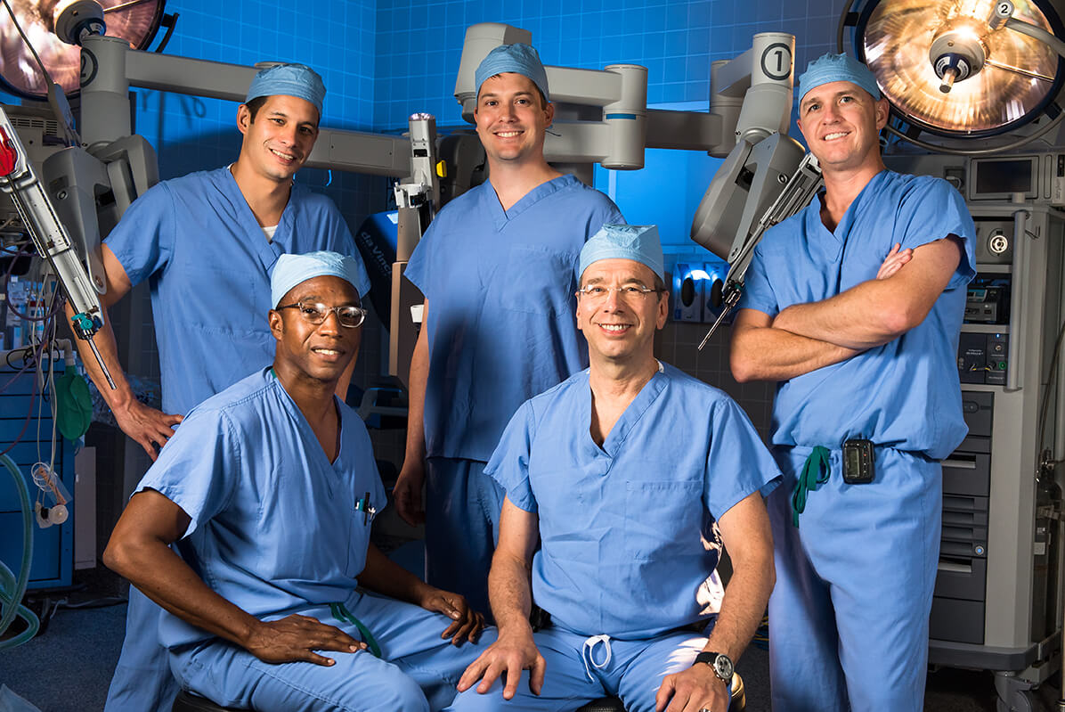 Da Vinci Surgical Team at Children's Hospital New Orleans