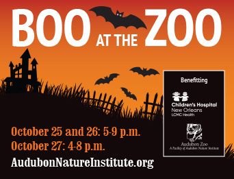 Boo at the Zoo Poster