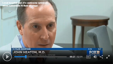 Dr. Heaton on TV